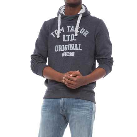 Specially made Cotton-Blend Hoodie (For Men) in Navy Melange Tom Taylor - Closeouts