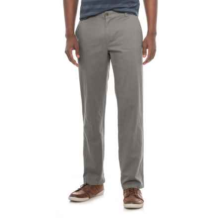 Specially made Cotton Twill Pants (For Men) in Dark Grey - Closeouts