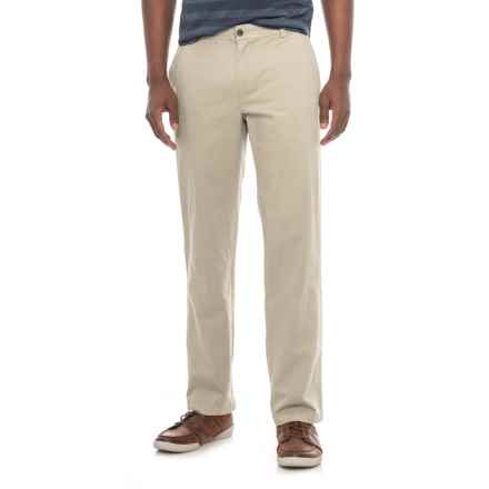 Specially made Cotton Twill Pants (For Men) in Stone - Closeouts