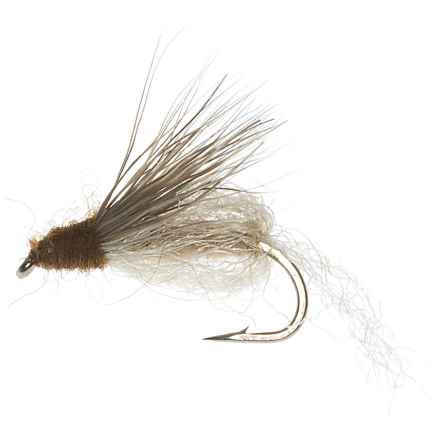 Specially made Emergent Sparkle Pupa Emerger Fly - Dozen in Tan - Closeouts