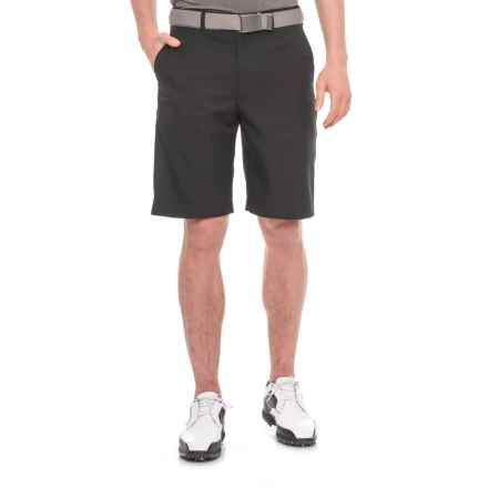Specially made Expandable Waistband Golf Shorts (For Men) in Black - 2nds