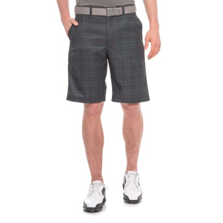 Specially made Expandable Waistband Golf Shorts (For Men) in Debonair