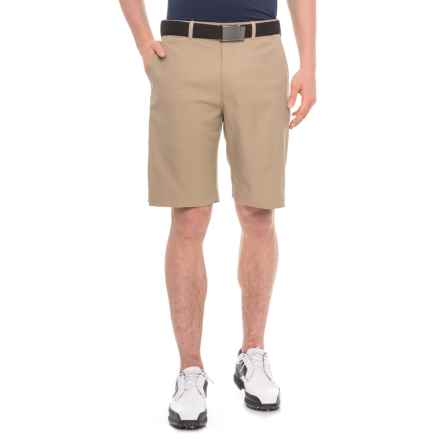 Specially made Expandable Waistband Golf Shorts (For Men) in Khaki - 2nds