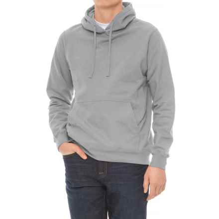 Specially made Fleece Hoodie (For Men) in Grey Heather - 2nds