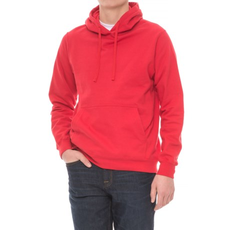Specially made Fleece Hoodie (For Men) in Red