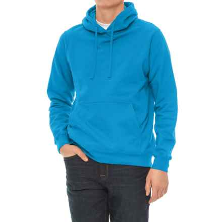 Specially made Fleece Hoodie (For Men) in Turquoise - 2nds