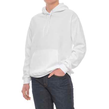 Specially made Fleece Hoodie (For Men) in White - 2nds