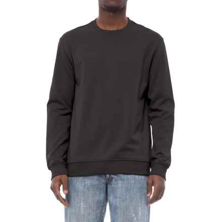 Specially made Fleece-Lined Sweatshirt (For Men) in Black - 2nds