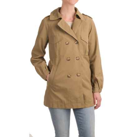 Specially made Four-Pocket Jacket (For Women) in Brown - 2nds