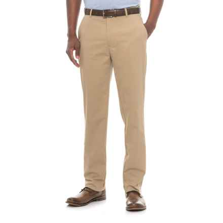 Specially made Four-Pocket Solid Stretch-Woven Pants (For Men) in Khaki - 2nds