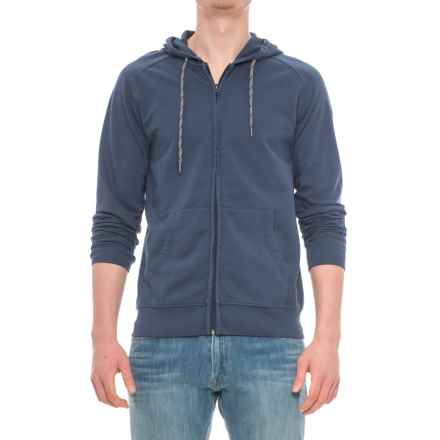 Specially made French Terry Full-Zip Hoodie (For Men) in Navy - Closeouts