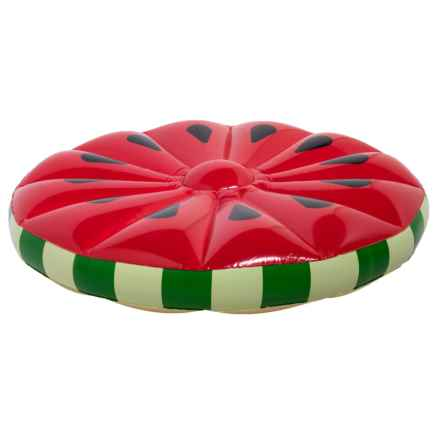 Specially made Giant Watermelon Island Pool Float in Watermelon - Closeouts