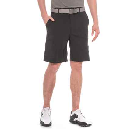 Specially made Golf Shorts - Zip Cargo Pockets (For Men) in Midnight - 2nds