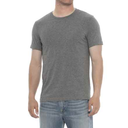 Specially made Heathered Crew Neck T-Shirt - Short Sleeve (For Men) in Grey - 2nds