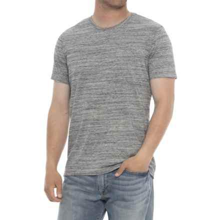 Specially made Heathered Crew Neck T-Shirt - Short Sleeve (For Men) in Light Grey - 2nds