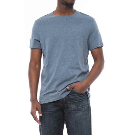 Specially made Heathered T-Shirt - Short Sleeve (For Men) in Blue Heather - 2nds