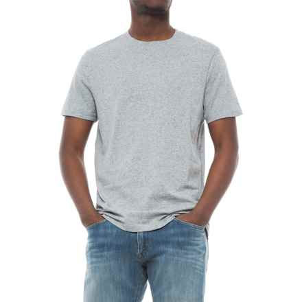 Specially made Heathered T-Shirt - Short Sleeve (For Men) in Grey Heather - 2nds