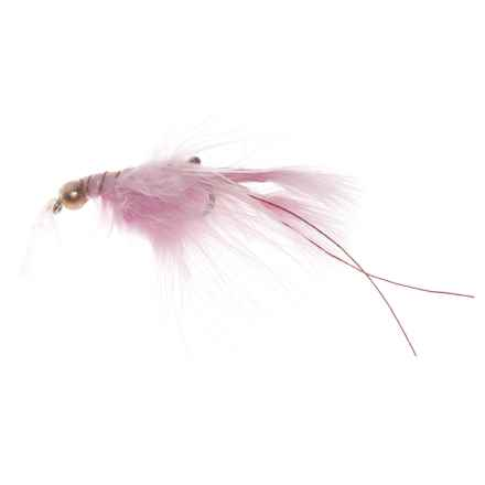 Specially made Junior Daddy Bass Fly - Dozen in Shrimp - Closeouts
