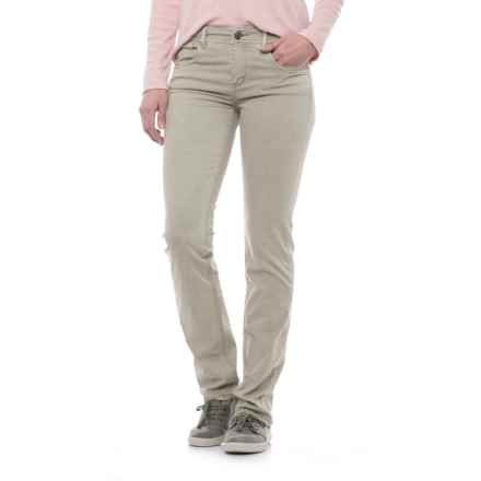 Specially made Laundered Stretch Twill Pants (For Women) in Khaki - 2nds