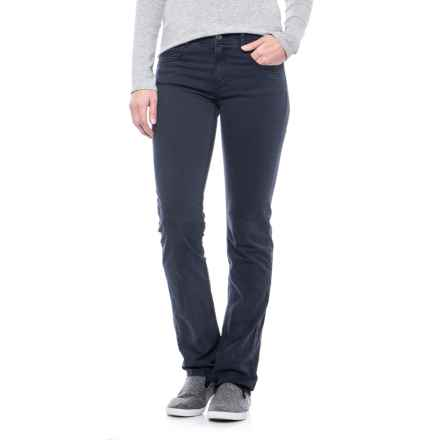 Specially made Laundered Stretch Twill Pants (For Women) in Navy - 2nds