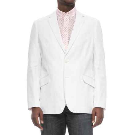 Specially made Linen-Blend Woven Blazer (For Men) in Bright White - 2nds