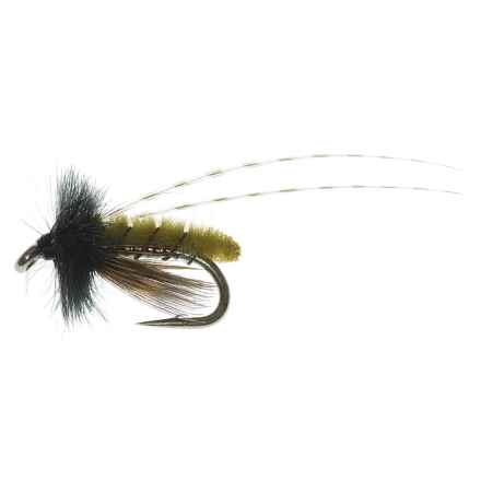 Specially made Micro Poopah Nymph Fly - Dozen in Olive - Closeouts