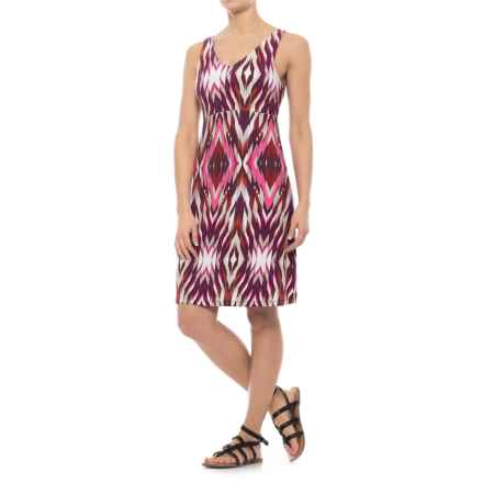 Specially made Patterned Dress - Sleeveless (For Women) in Pink Print - 2nds