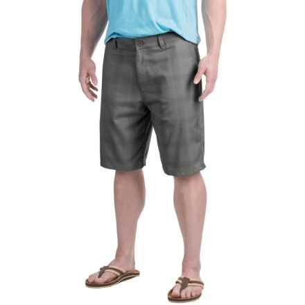 Specially made Patterned Shorts (For Men) in Grey - 2nds