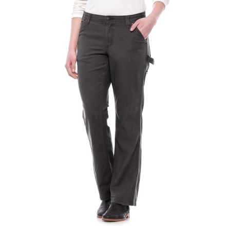 Specially made Reinforced Work Pants - Cotton Denim (For Women) in Black - 2nds