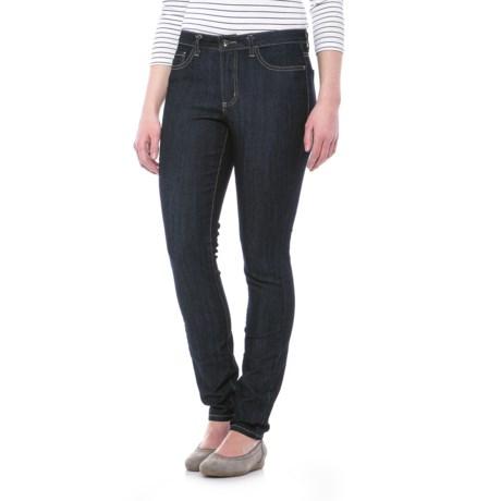 Specially made Skinny Denim Jeans (For Women) in Light Denim