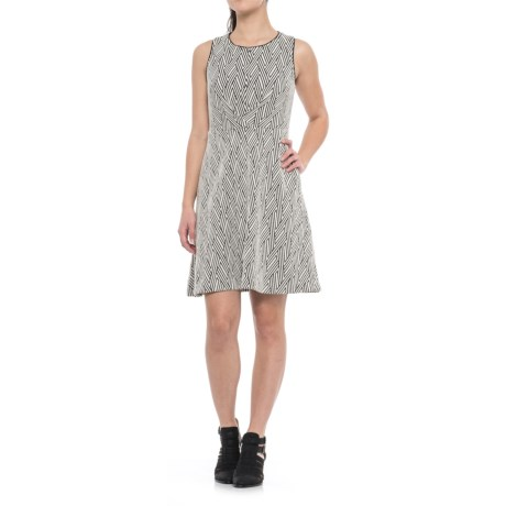 Specially made Sleeveless Dress (For Women) in Black White