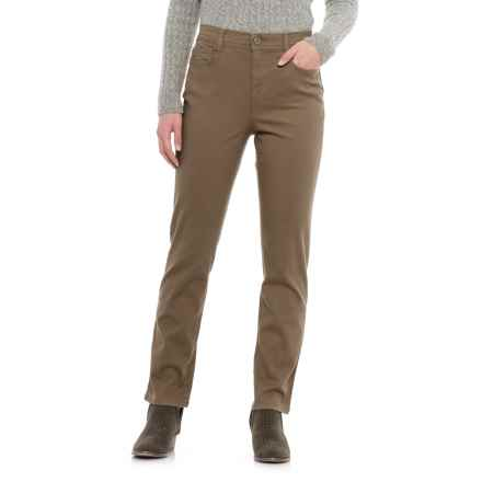 Specially made Slim-Leg Colored Jeans (For Women) in Taupe - 2nds