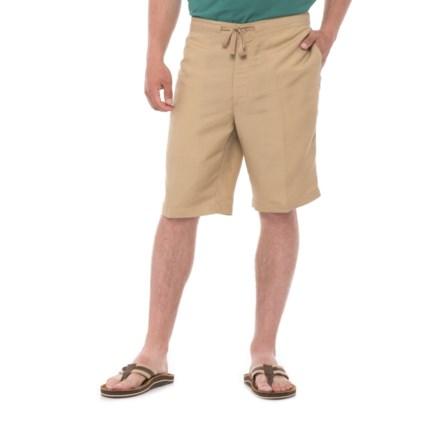 70fa6d991e Specially made Solid Drawstring Shorts (For Men) in Cornstalk - Overstock
