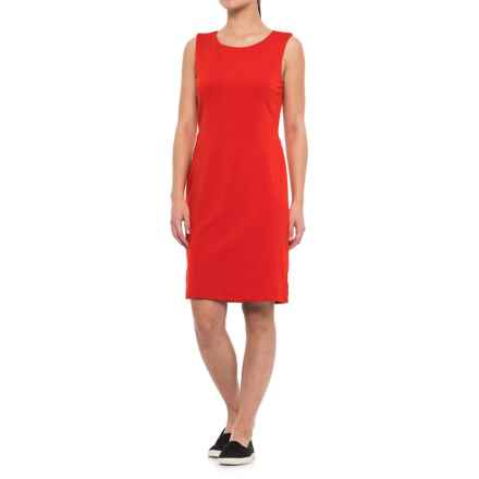 Specially made Solid Dress - Sleeveless (For Women) in Red - 2nds