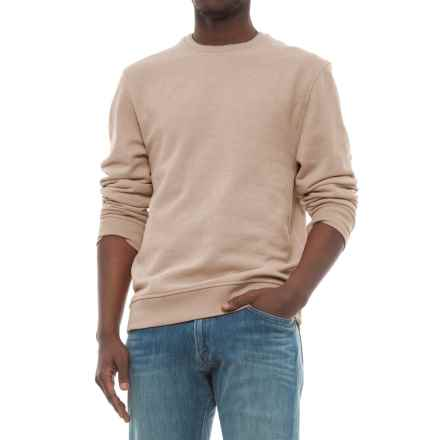 Specially made Solid Sweatshirt (For Men) in Beige - 2nds