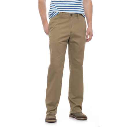 Specially made Solid Twill Woven Pants (For Men) in Khaki - 2nds