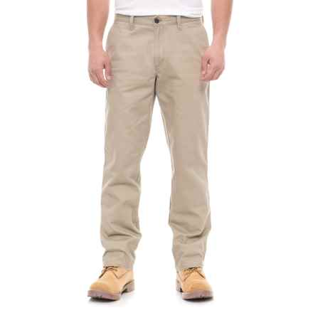 Specially made Solid Twill Woven Pants (For Men) in Tan - 2nds