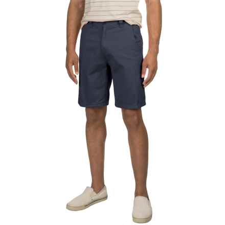 Specially made Solid Twill Woven Shorts (For Men) in Navy - 2nds