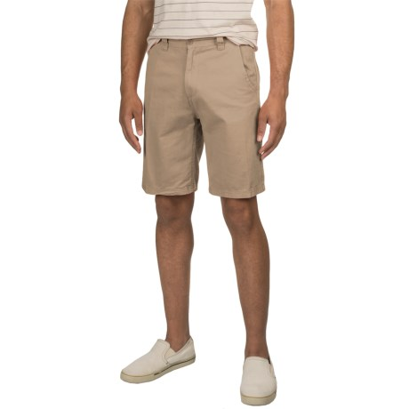 Specially made Solid Twill Woven Shorts (For Men)