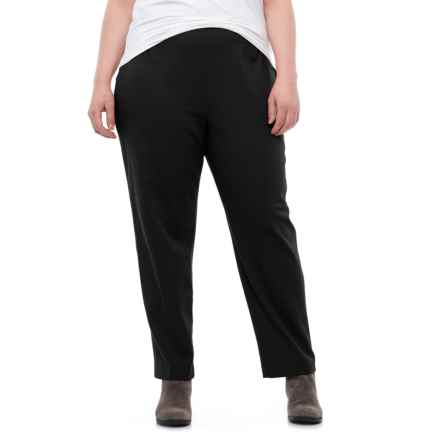 Specially made Stretch Cotton Chino Pants (For Plus Size Women) in Black - 2nds