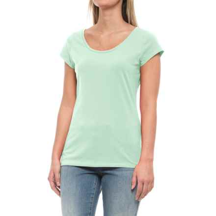 Specially made Stretch-Cotton Shirt - Short Sleeve (For Women) in Mint - 2nds