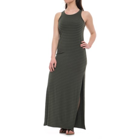 Specially made Stretch-Rayon Knit Maxi Dress - Sleeveless (For Women)