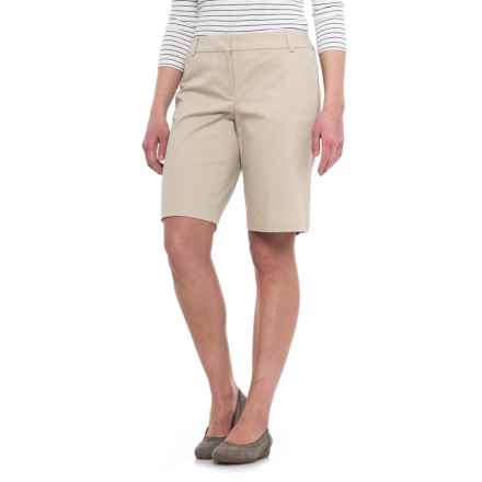 Specially made Stretch Woven Shorts (For Women) in Khaki - 2nds