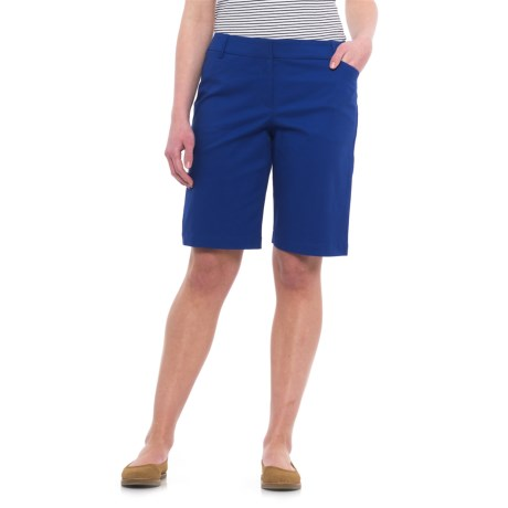 Specially made Stretch Woven Shorts (For Women) in Royal