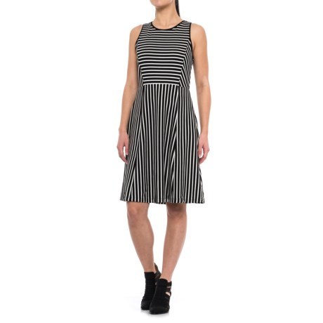 Specially made Striped Dress - Sleeveless (For Women)