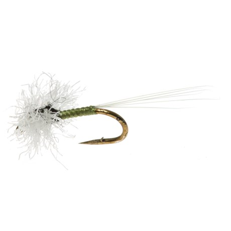 Specially made Triple Wing Trico Spinner Dry Fly - Dozen in Natural