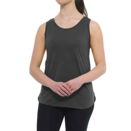 Specially made Tunic Shirt - Sleeveless (For Women) in Black - Closeouts