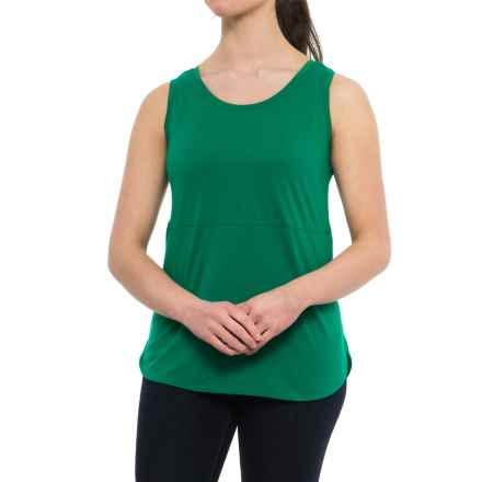 Specially made Tunic Shirt - Sleeveless (For Women) in Green - Closeouts