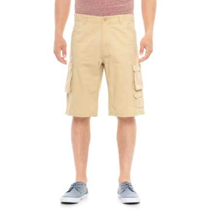 Specially made Twill 7-Pocket Cargo Shorts (For Men) in Beige - Overstock