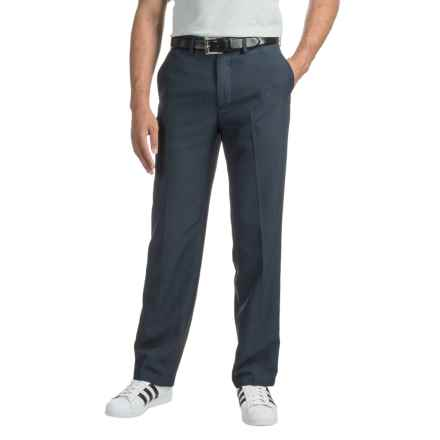 Specially made Woven Dress Pants (For Men) in Blue - 2nds